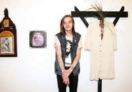"""James Concannon and W.C. Rice """"Hell Is Hot"""" exhibition at Shrine, New..."""