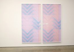"Sara VanDerBeek ""Pieced Quilts, Wrapped Forms"" at Metro Pictures, New York"