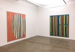 """Daniel Buren's Origin of Stripes: Paintings from 1965-1966"" Exhibition at Nahmad Contemporary,..."