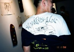 """Mark Gonzales """"Flammable Attitude"""" Exhibition at The Last Gallery, Tokyo"""