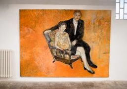 """Paola Angelini """"What is orange? Why, an Orange, Just an Orange!""""exhibition at..."""