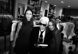 """Pat Cleveland's """"Walking with the Muses"""" book signing at Colette, Paris"""