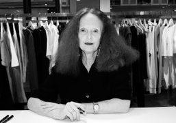 "Grace Coddington at the ""Grace: The American Vogue Years "" book signing..."