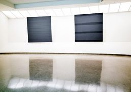 Agnes Martin Exhibition at the Guggenheim, New York
