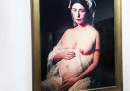 "Cindy Sherman and David Salle ""History Portraits and Tapestry Paintings"" Exhibition at..."