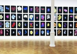 "Brian Clarke ""Night Orchids"" at Pace Gallery, London"
