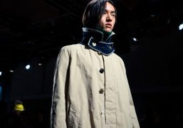 Sacai Men's F/W show at Le Centquatre, Paris