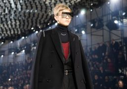 Dior Homme F/W 2017 show at Grand Palais, Paris
