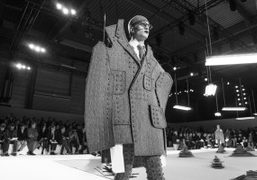 Thom Browne Men's F/W 2017 show at Paris Event Center, Paris