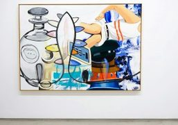 "David Salle ""New Paintings"" exhibition at Galerie Thaddaeus Ropac, Paris"