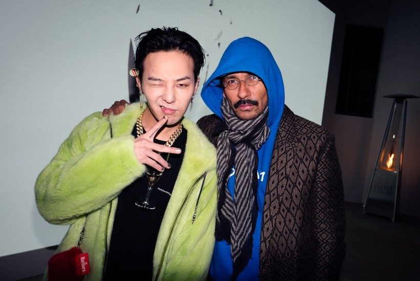 PeaceMinusOne by G-Dragon capsule collection presentation with +82 at Galerie Frank Elbaz and closing party at Le Pompon, Paris