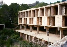 A visit to Josep Lluís Sert's abandoned Hotel built in 1969 in...