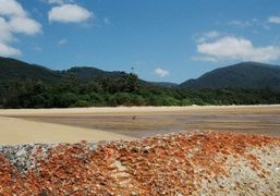 Exploring the lands of the Wilsons Promontory Marine National Park in Victoria,...