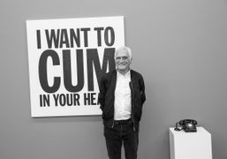 "John Giorno ""Space Forgets You"" exhibition opening at Galerie Eva Presenhuber, Zürich"