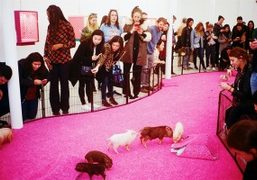 "Bjarne Melgaard and Bjørg ""The Casual Pleasure of Disappointment"" exhibition closing day..."