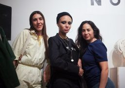 """Adwoa Aboah and Everybody """"Informal Shop"""" launch party at 142 Henry Street,..."""