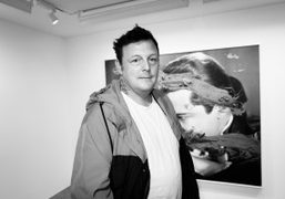 "An interview with Urs Fischer about his new show ""The Kiss"" at..."