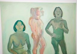 """Maria Lassnig """"A Painting Survey, 1950 – 2007"""" at Hauser and Wirth,..."""