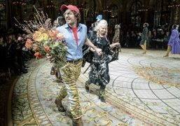 Dame Vivienne Westwood and Andreas Kronthaler at Vivienne Westwood by Andreas Kronthaler...