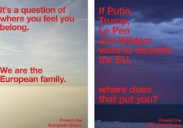 """A message of unity with """"Protect the European Union"""" campaign"""