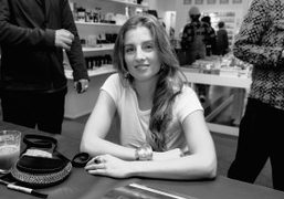 """Sonia Sieff signing for her first book """"Les Françaises"""" published by Rizzoli..."""
