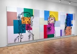 "George Condo ""New Works"" exhibition opening at Skarstedt Gallery, New York"