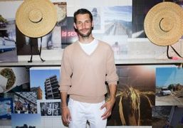 """Jacquemus """"Marseille Je T'aime"""" launch exhibition and book at MUCEM and Jogging..."""