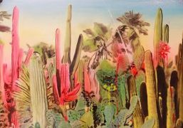 """Rosson Crow """"The Happiest People on Earth"""" solo exhibitionat Honor Fraser Gallery,..."""