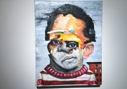"""Nathaniel Mary Quinn """"On That Faithful Day"""" solo exhibition at Half Gallery,..."""
