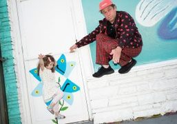 "Mark Gonzales ""Fower Plower"" launch exhibition at HVW8 Gallery, Los Angeles"