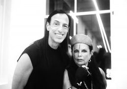 Rick Owens and Michèle Lamy Book Signing at Rick Owens Boutique, New...