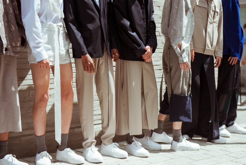 Chalayan Men's S/S 2018 show at the Chalayan Boutique, London