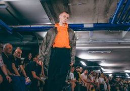 Julius Men's S/S 2018 show at Parking Olympia, Paris