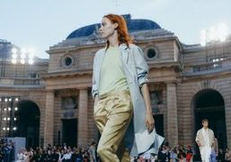 Berluti Men's S/S 2018 Show at La Monnaie de Paris, Paris