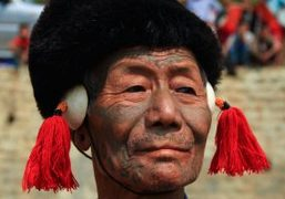 A trip to North-East state Nagaland during Aoling festival, India
