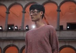Ermenegildo Zegna men's s/s 2018 show at università statale, milan