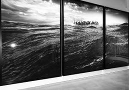 """Robert Longo """"The Destroyer Cycle"""" exhibition at Metro Pictures, New York"""