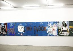"""""""Feedback"""" exhibition curated by Leo Fitzpatrick at Marlborough Contemporary, New York"""