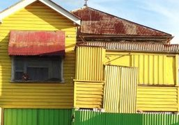 Cosimo Fanciullacci captures the colorful architecture of Amsterdam and Brisbane