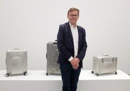 Wim Delvoye exhibition opening at Perrotin Gallery, New York