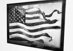 "An interview with the artist Robert Longo on his solo show ""Let..."