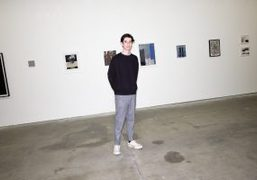 """""""From Out Under"""" group exhibition co-curated by Matthew Brown and Lucien Smith..."""