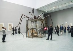 "Louise Bourgeois ""An Unfolding Portrait"" exhibition at MoMa, New York"
