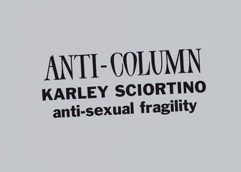 Anti-sexual fragility