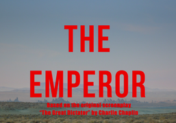 """Zoë Le Ber """"The Emperor"""" premiers at the former Perry Street Theatre..."""
