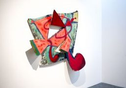 "Elizabeth Murray ""Painting in the '80s"" exhibition at Pace Gallery, New York"