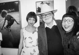 """Hugh Holland """"Silver. Skate. Seventies"""" exhibition opening at M+B Photo, Los Angeles"""