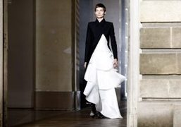 Givenchy couture S/S 2018 show at Archives Nationales, Paris