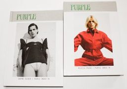 Purple Index 76: discover the two covers starring Thistle Brown