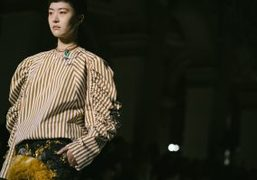 Dries Van Noten F/W 2018 show at Hôtel de Ville, Paris